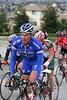 Matteo Tossato rides up Sierra Road in San Jose.