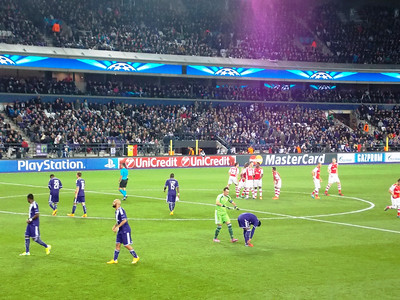 Anderlecht vs. Arsenal 2014