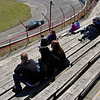 Anderson Speedway fans watch qualifying for the Vores Welding CRA Late Model Sportsman Series Powered by JEGS on opening day at Anderson Speedway.