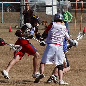 Anderson Trojan Lacrosse - Alumni game