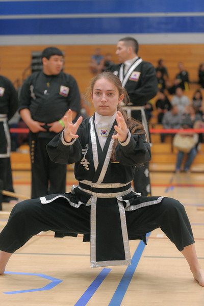 Lexie competing at the 2016 WKSA Pacific Tournament, Folsom, CA.  April 16, 2016.