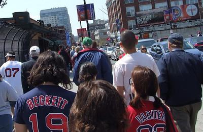 Angels at Red Sox 4/24/08