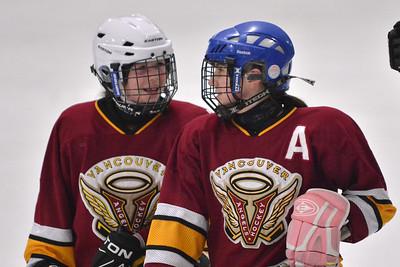 2013-12-28 Vancouver Angels A vs. Meadow Ridge Barracudas C1 Female Bantam Hockey