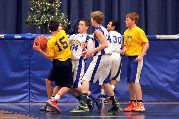 St Agnes 7th grade boys  A team 116