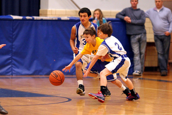 St Agnes 7th grade boys  A team 098