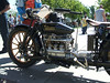 1917 Militaire 4 cyl in line wood whees doulbe leaf spring in front check out shifter