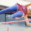 Globe/T. Rob Brown<br /> Joplin senior Mariah Sanders clears a vault with ease Friday afternoon, April 13, 2012, at Pittsburg State University's field.