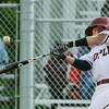 Globe/Roger Nomer<br /> Joplin's Brett Graham hits a Willard pitch during Friday's game.