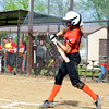Altamont's Madison Ohnesorge swings and is about to make contact during a 10-0 win over Neoga.