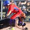 4-1-15<br /> Kokomo vs Northwestern softball<br /> Kokomo's Alexis Clark gets to home safely before Northwestern's catcher can get her out.<br /> Kelly Lafferty Gerber | Kokomo Tribune