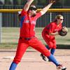 4-1-15<br /> Kokomo vs Northwestern softball<br /> Kokomo pitcher Rachel Lawson<br /> Kelly Lafferty Gerber | Kokomo Tribune