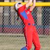 4-1-15<br /> Kokomo vs Northwestern softball<br /> Kokomo's Cori Johnston catches the ball for an out.<br /> Kelly Lafferty Gerber | Kokomo Tribune