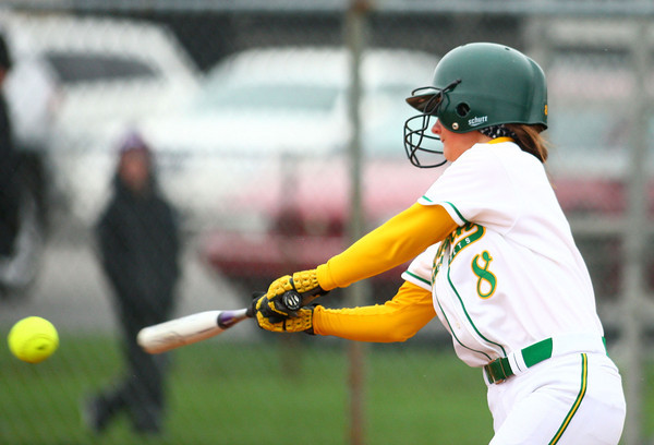 4-13-13<br /> Eastern and Taylor softball<br /> Ally Oyler bats for Eastern.<br /> KT photo   Kelly Lafferty