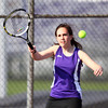 4-18-14<br /> Northwestern tennis<br /> 2 singles Kady Whitehead<br /> Kelly Lafferty | Kokomo Tribune