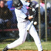 4-16-14<br /> Kokomo vs. Western baseball<br /> Western's Devon Eaker bats<br /> Kelly Lafferty | Kokomo Tribune