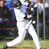 4-16-14<br /> Kokomo vs. Western baseball<br /> Western's Devon Eaker bats<br /> Kelly Lafferty   Kokomo Tribune