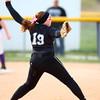 4-24-14<br /> Western vs. Northwestern softball<br /> Western's Lexy Sanders pitches.<br /> Kelly Lafferty | Kokomo Tribune