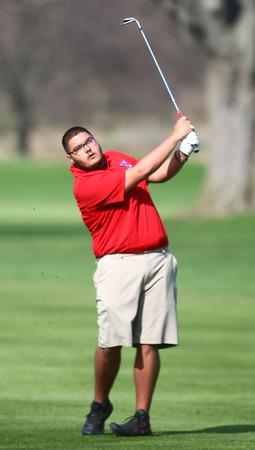 4-17-14<br /> Kokomo Eastern golf<br /> Kokomo #4 Ryan Balog<br /> Kelly Lafferty | Kokomo Tribune