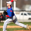 4-16-14<br /> Kokomo vs. Western baseball<br /> Kokomo pitcher Dustin Gamblin<br /> Kelly Lafferty | Kokomo Tribune