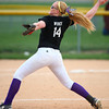 4-24-14<br /> Western vs. Northwestern softball<br /> Northwestern's Lauryn Wyrick pitches.<br /> Kelly Lafferty | Kokomo Tribune