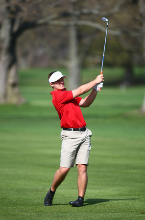 4-17-14<br /> Kokomo Eastern golf<br /> Kokomo #1 Tanner Guyer<br /> Kelly Lafferty | Kokomo Tribune