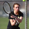4-18-14<br /> Northwestern tennis<br /> 3 singles Lauren Miller<br /> Kelly Lafferty | Kokomo Tribune