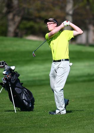 4-23-14<br /> Western vs. Taylor golf<br /> Western 5 Baylor Woolley<br /> Kelly Lafferty | Kokomo Tribune