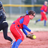 4-1-14<br /> Kokomo vs Lebanon softball<br /> Kokomo's Cathy Skaggs makes a catch.<br /> KT photo | Kelly Lafferty