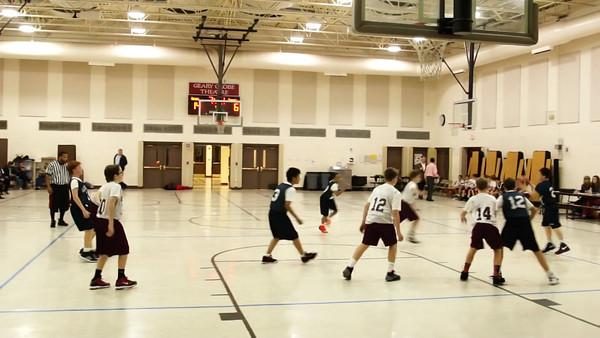 Aquinas Basketball VIDEO 11-21-2013