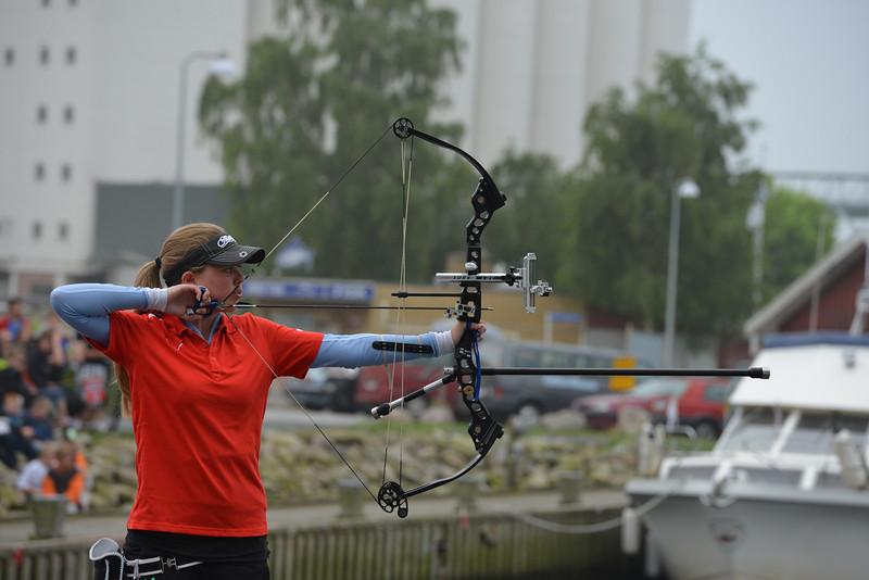 Ida Frandsen i mix hold guldfinalen ved EM for ungdom i Nykøbing Falster