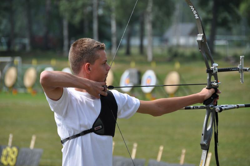 En af TIK's unge talenter, Mads Andersen, på vej mod en flot 11. plads