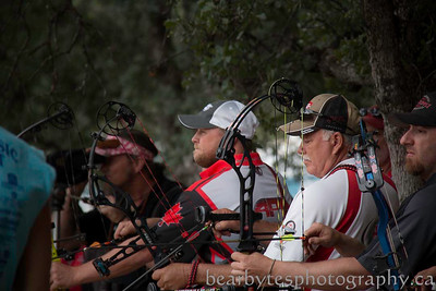 Cory and Mark in the shootoff- Western Classic - Redding