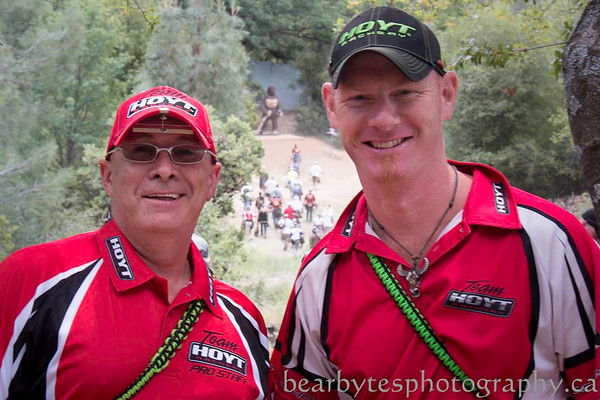 On the line at Bigfoot - Western Classic - Redding