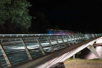 Ghosts- Sundial Bridge - Redding Californina