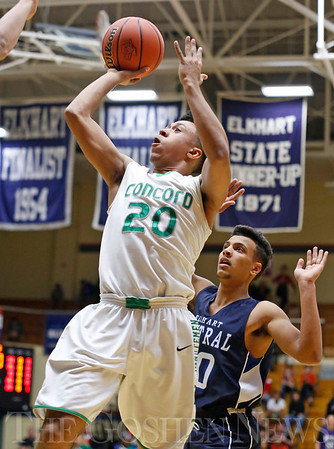 HIGH SCHOOL BASKETBALL: Concord vs. Elkhart Central