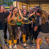 The Pioneer Panthers celebrate after they captured the 2018 1A IHSAA Semi-State Championship in Frankfort Saturday evening  defeating the Frontier Falcons by a score of 6-3. Fran Ruchalski | Pharos-Tribune