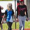 Logansport Berries players walk with their parents during senior night before the game on Thursday, May 13, 2021 in Logansport.