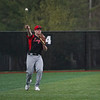 A Logansport Berries outfielder throws a the ball in during the sixth inning of a game between the Logansport Berries and Twin Lakes Indians on Saturday, April 10, 2021 in Logansport.