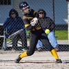 A Pioneer Panthers batter swings on a pitch during the second inning of a game between the Pioneer Panthers and Lewis Cass Kings on Thursday, April 22, 2021 in Royal Center.