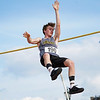 Pioneer's Ryan Adams competes in pole vault during the boys track and field sectional at Kokomo High School on Thursday, May 20, 2021 in Kokomo.