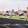 Cass teams compete during the girls track and field sectional at Western High School on Tuesday, May 18, 2021 in Russiaville.