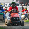 People compete in the Twelve Mile 500's Briggs Race at Plank Hill Park in Twelve Mile on Sunday, July 4, 2021.