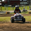 U.S. Lawn Mower Racing Association racers compete in heats at Plank Hill Park in Twelve Mile on Friday, July 2, 2021.