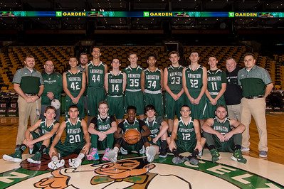 The Abington Green Wave JV Boys Basketball team travels into TD Garden to face a JV squad down from Quebec City  [Courtesy Photo/Bill Marquardt]
