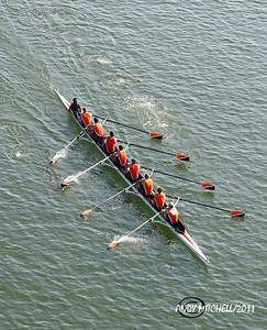 Head of the Hooch regatta in Chattanooga TN