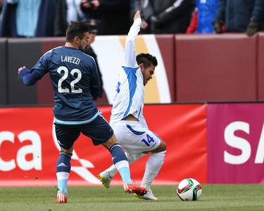 Argentina v El Salvador Soccer 150328