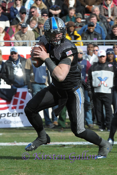 Air Force QB Connor Dietz.