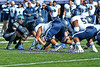 How low can you go?  Air Force QB Conner Dietz is the definition of getting low under center.