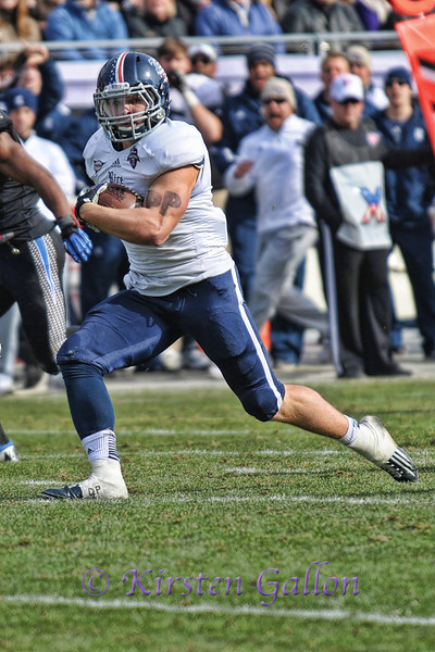 Rice RB #26 Turner Peterson.