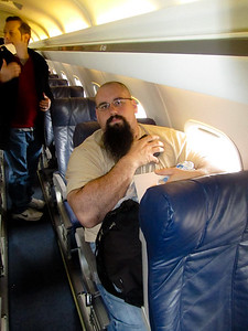 Yes, Eric CAN Fit in an Airplane Seat!